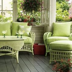 Interior design portfolio - beach houses - Ideas for decorating a beach house - Main Cottage.jpg….I love this color and this style furniture, so…..
