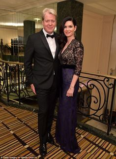 Earl Spencer and Countess Karen Spencer put on a glamorous display at Whole Child International's Inaugural Gala in Los Angeles hosted by the couple