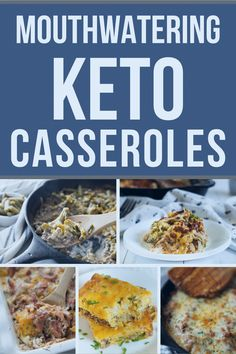 20 Easy Keto Casserole Recipes {low carb friendly} #casserole #easy #keto #ketocasserole #list #lowcarb #recipes