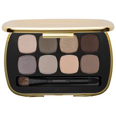 bareMinerals READY™ 8.0 Power Neutrals -An extraordinary palette, featuring pure, intense, provocative color in eight amped-up neutrals.   #Sephora