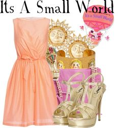 """""""It's A Small World"""" by agust20 ❤ liked on Polyvore"""