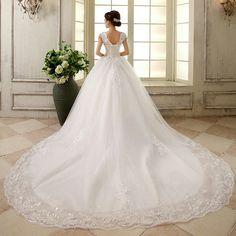 Cauda   #vestidos #noiva