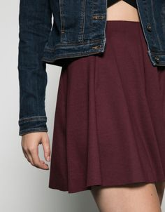 skater skirt. Discover this and many more items in Bershka with new products every week