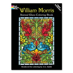this coloring book features sixteen handsome renderings based on projects by william morris one of