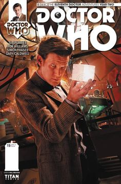 The Eleventh Doctor Adventures Year 2 #15 2016 Comic Cover art by @willbrooks1989