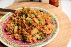 riz sauté aux légumes - clémentine cuisine