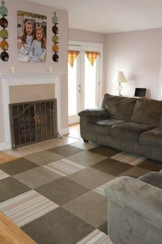 FLOR Carpet Tiles make changing the look of your room easy!
