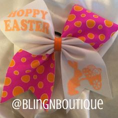 Well Hoppy Easter to you! Pink with orange polka dots tic toc's with white and orange letters saying Hoppy Easter with a cute bunny pushing a cart full of Easter eggs. So precious! Hoppy Easter, Easter Gift, Easter Crafts, Easter Bunny, Crafts For Teens To Make, Crafts To Sell, Diy And Crafts, Spring Crafts, Holiday Crafts