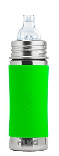 The #Pura Sippy Cup features a food grade stainless steel bottle (18/8), medical grade silicone XL Sipper Spout, silicone travel cover and zero plastic parts! Th...