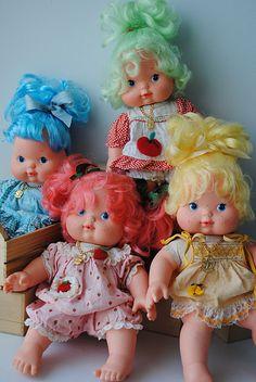 Coleção Bebês Moranguinho 1986 e 1985