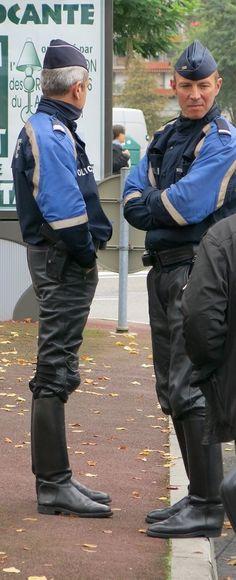 Motocyclistes - Police Nationale - France