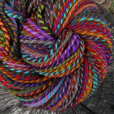 brand new patchwork colorway by folktalefibers, via Flickr