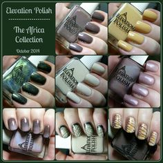 Elevation Polish: The Africa Collection - Swatches and Review | Pointless Cafe
