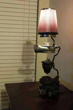 Lampara de turbo y filtro de aire