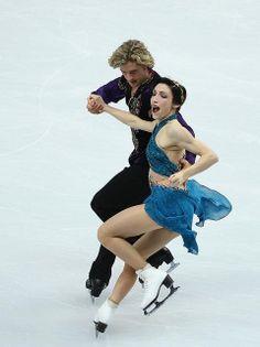 Meryl Davis Charlie White Team Free Dance Sochi 2014