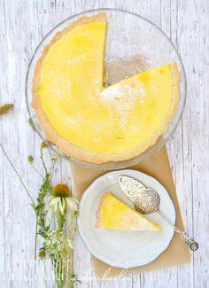 Tarte au Citron, ein erfrischender Zitronenkuchen :)