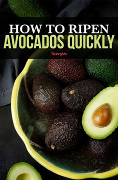 Wondering how to ripen avocados quickly? We have the low-down on methods that work (and, the ones that don't) to get your avocados ready in time for dinner. How To Ripen Avocados, Cooking On A Budget, Cooking Tips, Avocado Recipes, Vegan Recipes, Avocado Health Benefits, Ripe Avocado, Recipes, Gourmet