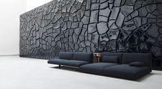 Modular sofa MOVE by Paola Lenti design Francesco Rota Dark Furniture, Luxury Furniture, Interior Architecture, Interior And Exterior, Modern Sofa Designs, Appartement Design, Interior Decorating, Interior Design, Modular Sofa