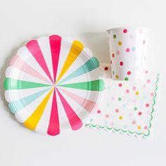 'It's a Party' Small Pinwheel Plate – Shop Sweet Lulu