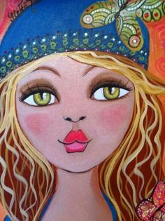 Art Journal Inspiration, Painting Inspiration, Colorful Drawings, Art Drawings, African Art Paintings, Fashion Wall Art, Arte Popular, Cute Cartoon Wallpapers, Whimsical Art