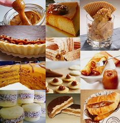 The many uses of dulce de leche in Argentina Love Eat, I Love Food, Argentina Food, Chocolates, Hispanic Kitchen, Argentine, Best Food Ever, Mexican Dishes, Food Dishes
