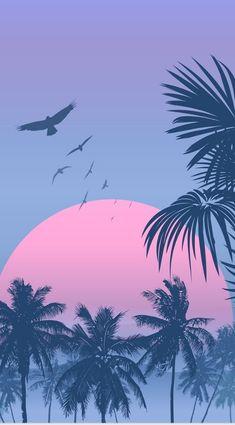saturday - whatever it takes - Light Purple Wallpaper, Tropical Wallpaper, Summer Wallpaper, Pastel Wallpaper, Nature Wallpaper, Pastel Background Wallpapers, Phone Backgrounds, Wallpaper Backgrounds, Wallpapers Tumblr