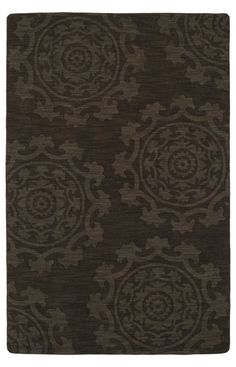 $5 Off when you share! Kaleen Imprints Classic IPC01 Chocolate Rug   Traditional Rugs #RugsUSA