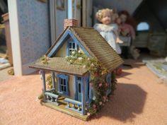 Dollhouse Miniature Artisan Amanda Skinner Delightful Toy House with Furniture