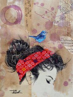 "Saatchi Art Artist LOUI JOVER; Drawing, ""such wonderous"" #art"