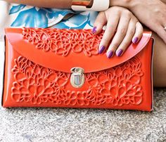 Hard Clutch Bag
