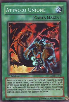 YU-GI-OH! ATTACCO UNIONE LODT-IT093 SUPER RARA THE REAL_DEAL SHOP
