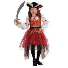 Rubies Costume Co - Déguisement Fille Costume Pirate Princesse de la Mer Rubies - Multicolore, S 3-4 Ans