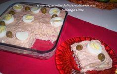 Torta de pão de forma e atum - Espaço das delícias culinárias