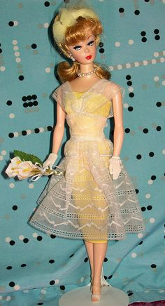1961 Orange Blossom Barbie by thebarbieman, via Flickr