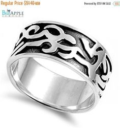 Other Fine Rings Sterling Silver Solid Domed Ring Size 8 Msrp $30