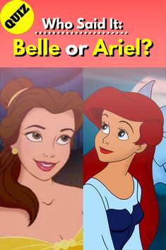 Think you know The Little Mermaid or The Beauty and the Beast? You may think differently after this quiz. Disney Quizzes Trivia, Fun Quizzes, Pixar Movies, Disney Movies, Disney Characters, Fictional Characters, Who Said, The Little Mermaid, Beauty And The Beast