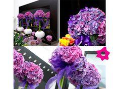Hortensias como flores de boda