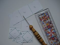 Emily's Cupboard: Freezer Paper Foundation Piecing!!! For my dear jane