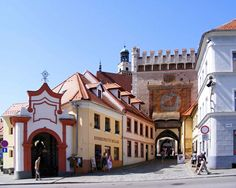 Prachatice - A small walled town in South Bohemia