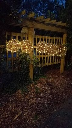 Large Lighted Grapevine Ball SOLAR POWERED 8' 18'