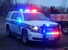 2015 Chevy Tahoe Eau Claire Police
