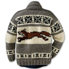 Cowichan Fox Sweater from Filson.