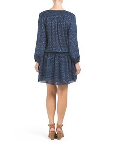 alternate image #1 of Silk Bain Mini Dress