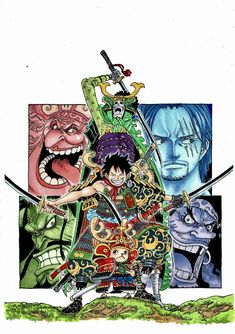 One Piece Luffy, One Piece Anime, Geeks, One Piece Movies, Mugiwara No Luffy, Anime D, Graphic Novel Art, One Piece World, Comic Covers