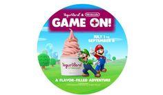 Finally There Is Mario-Themed Frozen Yogurt