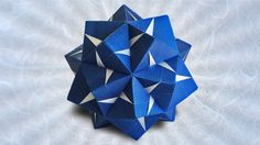 Difficulty: ★ ☆ ☆ ☆ ☆ (Simple) In this video, you will learn how to make a simple 30-unit modular origami kusudama designed by Maria Sinayskaya. This model i...