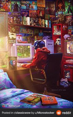 Old school gaming in a retro room Gaming Wallpapers, Animes Wallpapers, Ocarina Of Time, Tour Pc, Nostalgic Pictures, Foto Art, World Of Warcraft, Starcraft, New Image