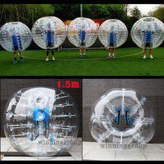 1 5M Inflatable Bumper Body Zorbing Ball Human Knocker Ball Bubble Soccer Ball | eBay