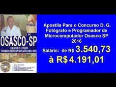 Apostila Concurso D. G.  Fotógrafo e Programador de Microcomputador | Os...