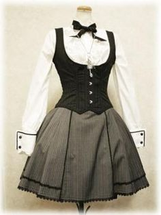 Gothic Lolita School Uniform